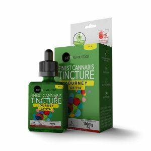 Jounrey thc tincture green revolution water based tinctures nano
