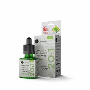 avocado oil cannabis cbd thc 20 1 green revoluion