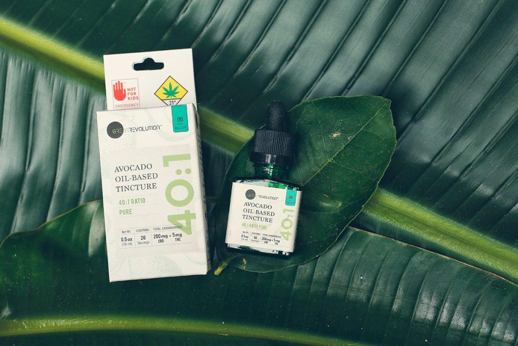 cbd thc tincture green revolution cannabis