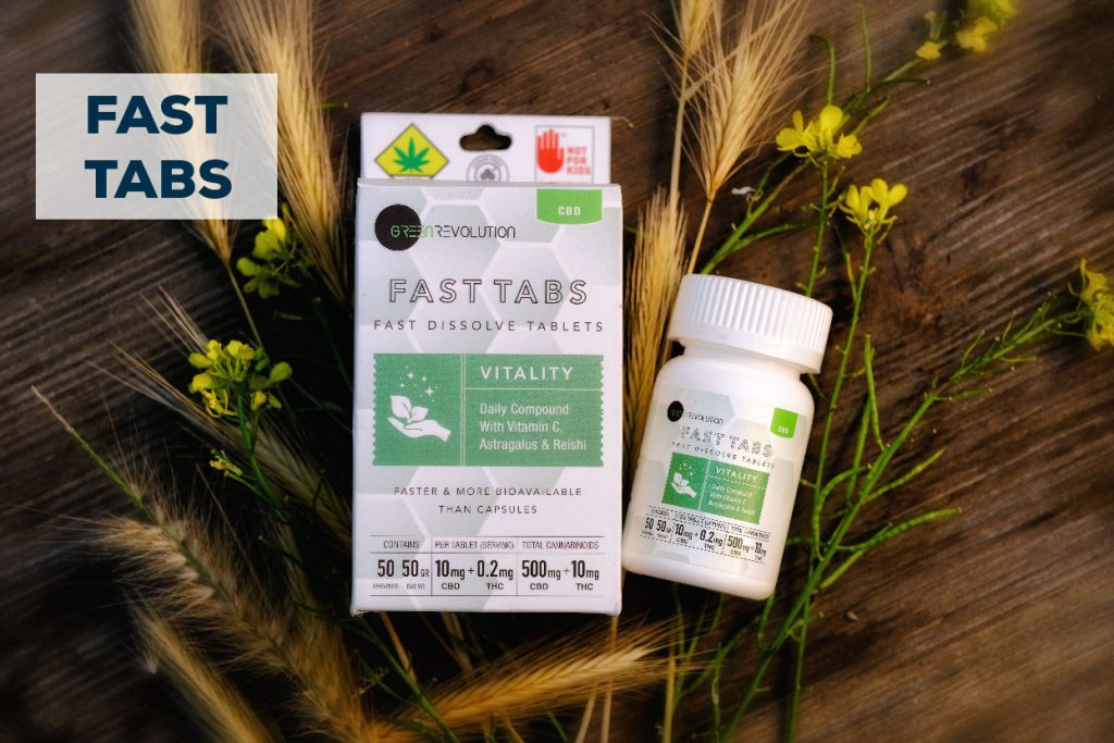 fast tabs vitality superfood cannabis tablet