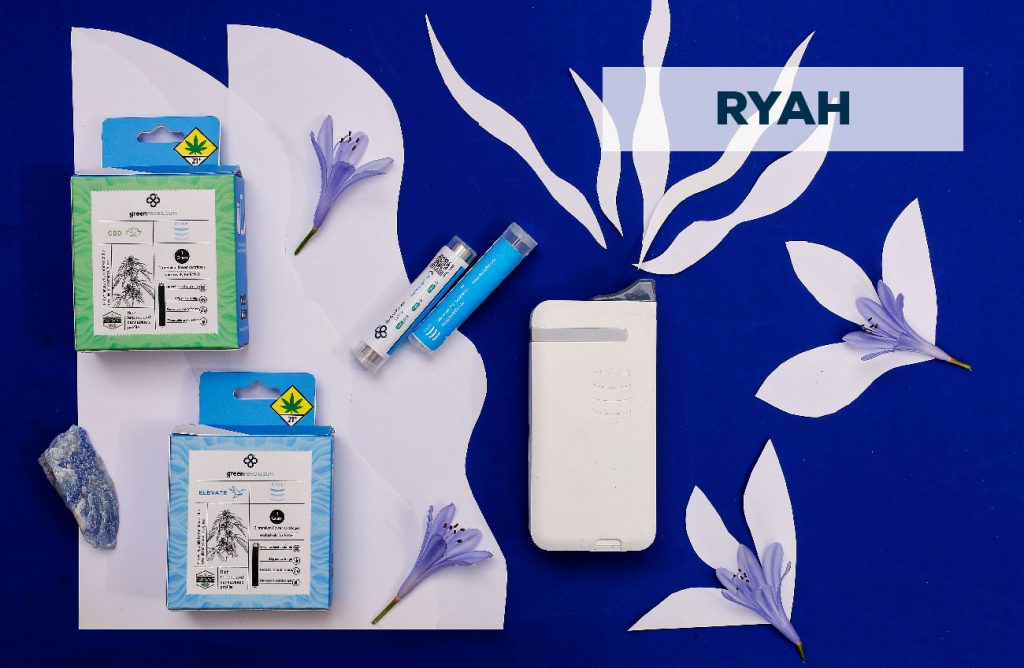 ryah green revolution cannabis experiences vaporizer